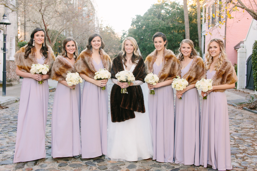 Winter wedding at The American Theater in Charleston, SC by Riverland Studios  //  A Lowcountry Wedding Magazine