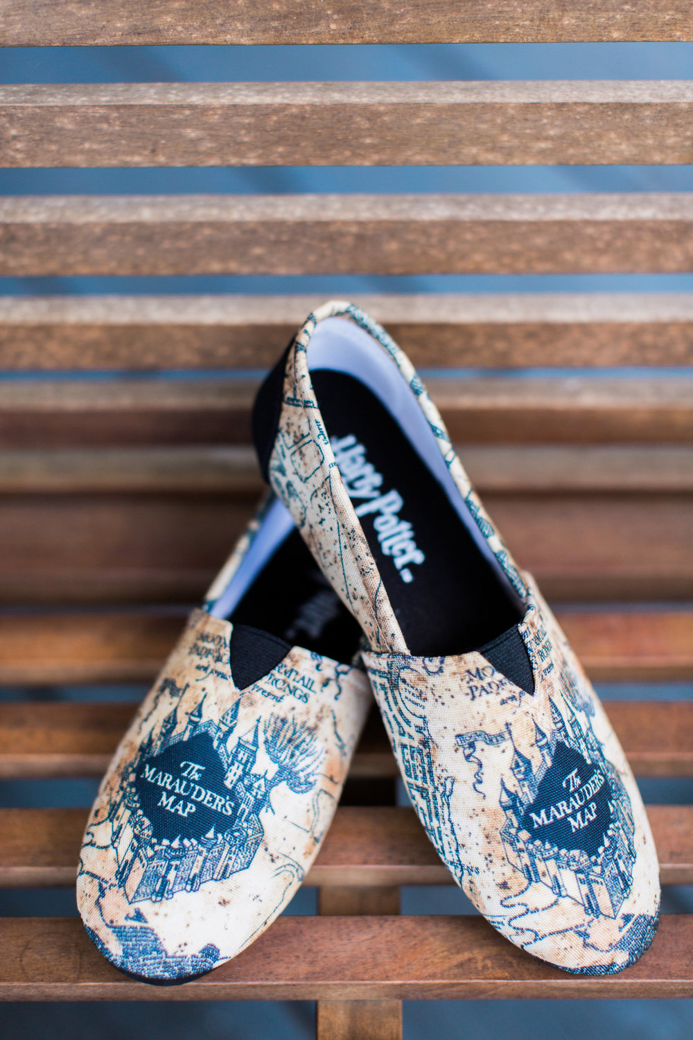 Savannah Bride's Harry Potter TOMS  //  A Lowcountry Wedding Magazine
