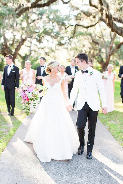 Martha & AJ's Brookgreen Gardens wedding in Myrtle Beach SC by Magnolia Photography