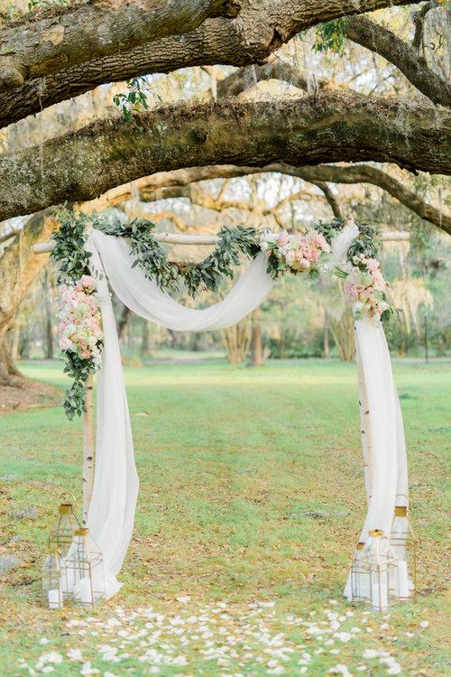 Magnolia Plantation & Gardens wedding elopement by Pure Luxe Bride
