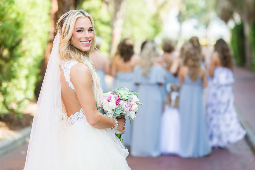 Beaufort SC bride in Winnie Couture gown  //  A Lowcountry Wedding Magazine