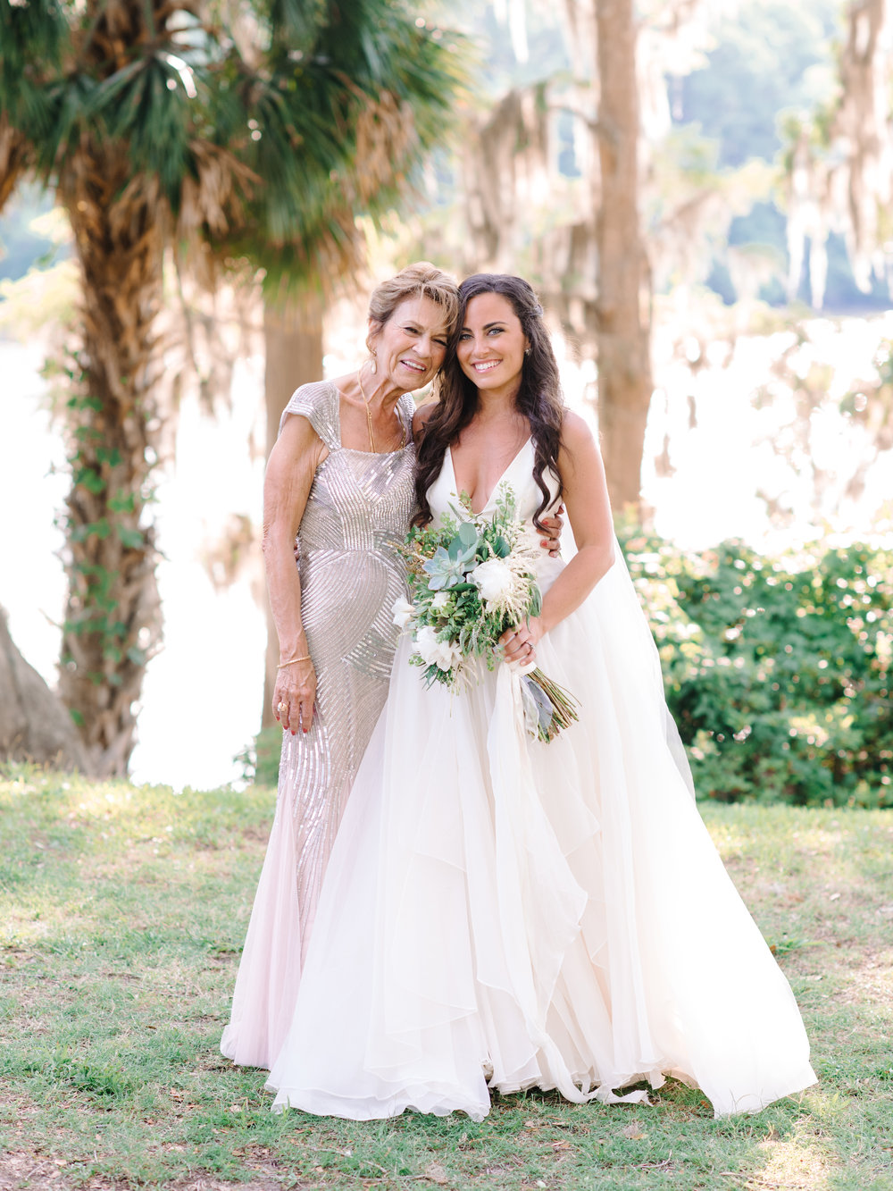 Myrtle Beach bride in Leanne Marshall gown from Lovely Bride  //  A Lowcountry Wedding Magazine