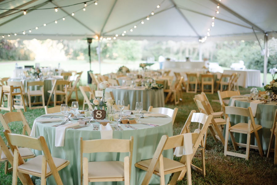 Sage Peach Wedding At Magnolia Plantation And Gardens A