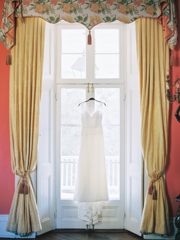 Charleston bride's Modern Trousseau gown  //  A Lowcountry Wedding Magazine