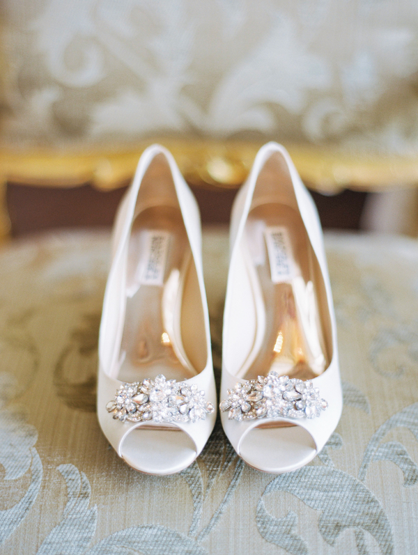 Manolo Blahniks wedding shoes in Charleston SC