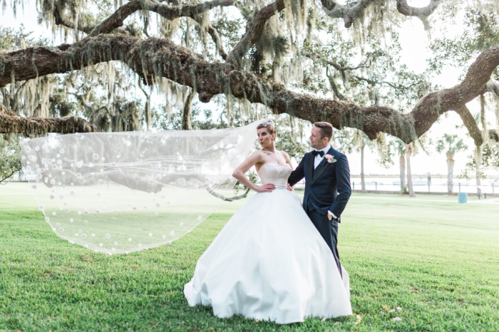 Jekyll Island Resort wedding in Georgia by Bud Johnson Photography