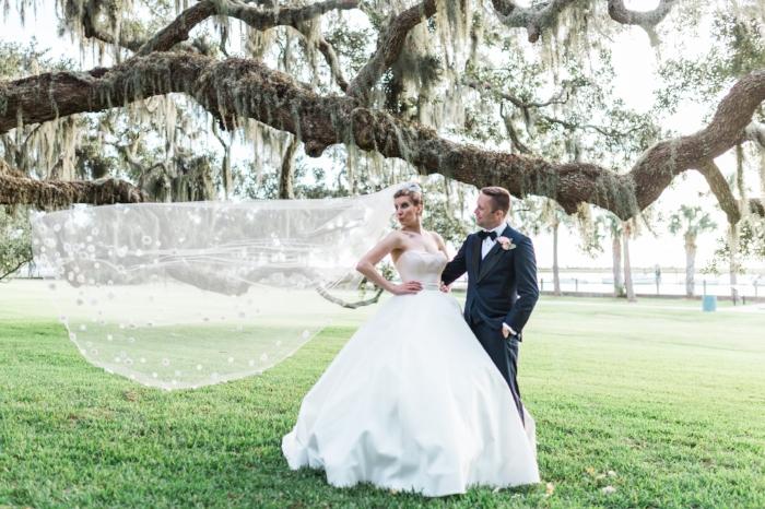 Jekyll Island Resort wedding in Georgia by Bud Johnson Photography