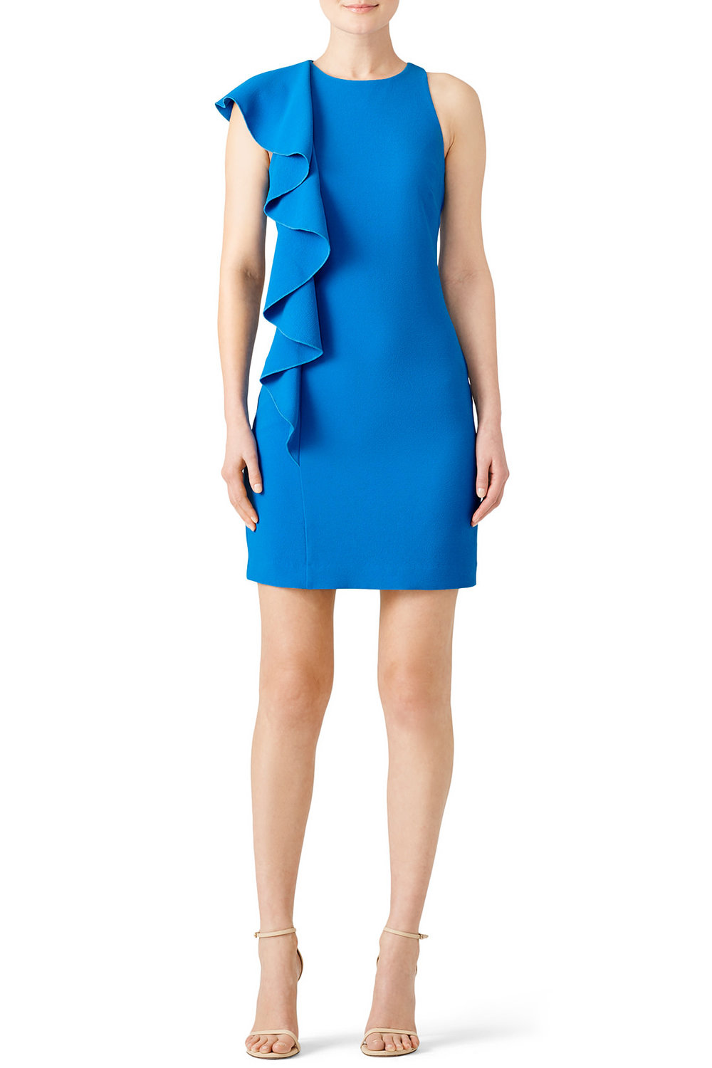 Trina Turk Blue Crescent Dress