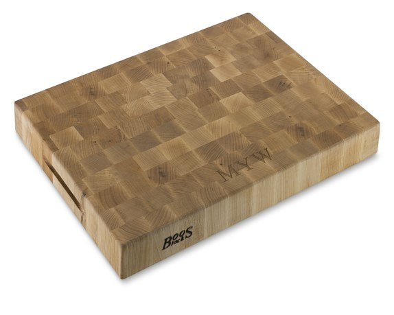 boos end-grain rectangular chopping block - $199.95