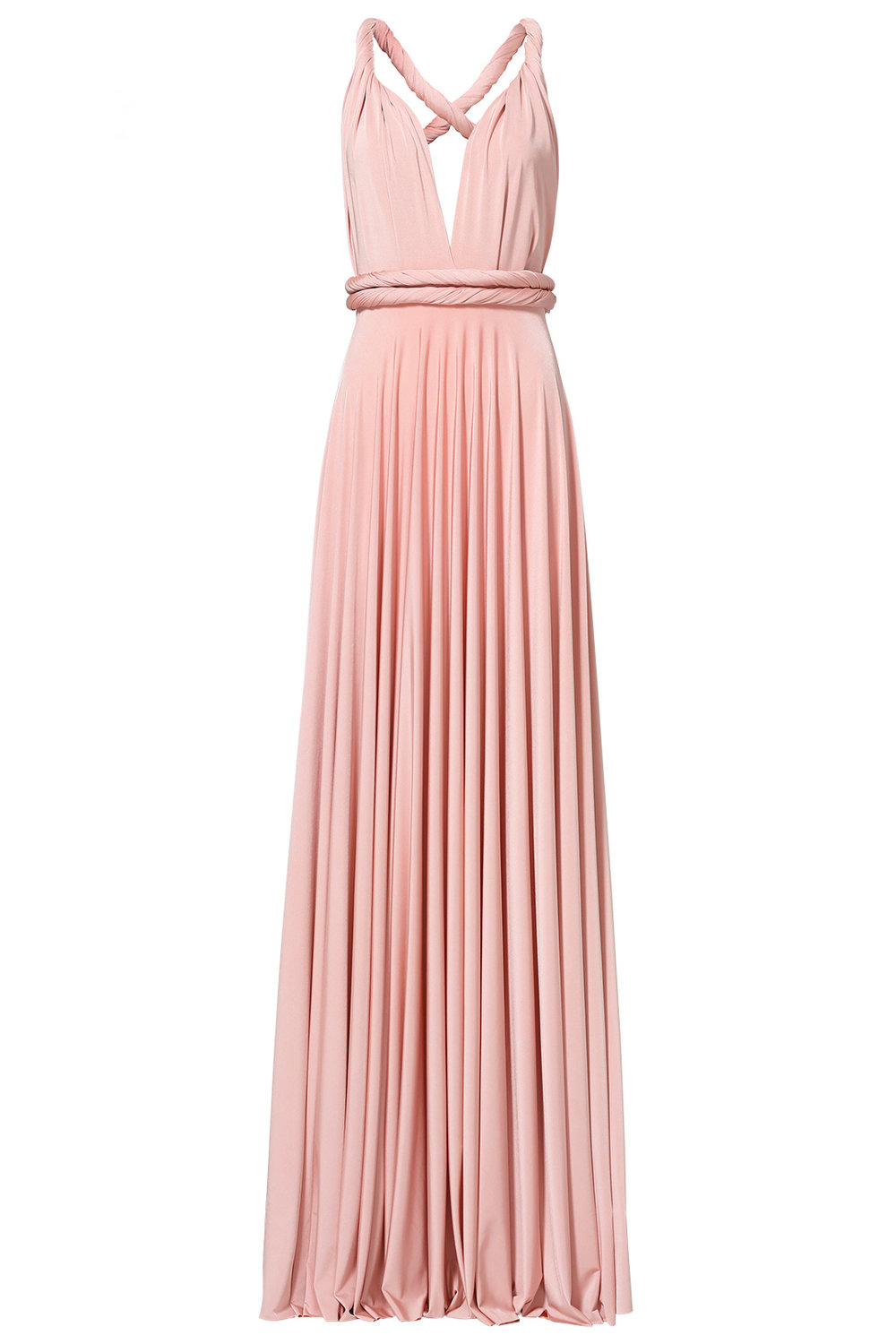 twobirdsBlush Classic Convertible Gown - $50.00-$70.00