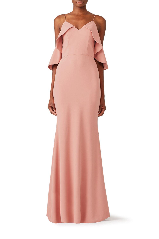 Christian SirianoClay Ruffle Gown - $525-$535.00