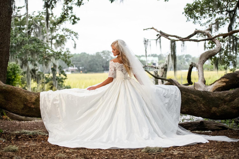 Boone Hall Plantation Cotton Dock Wedding Jillian Bill A