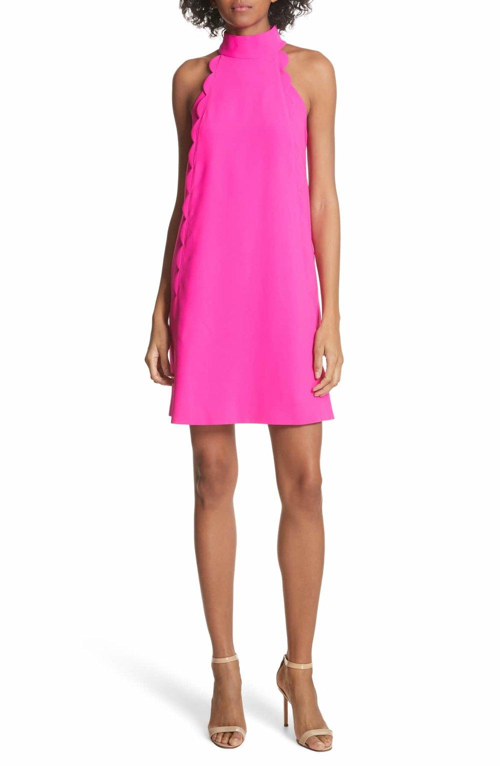 TED BAKER LONDON Torrii High Neck Tunic Dress - $279.00