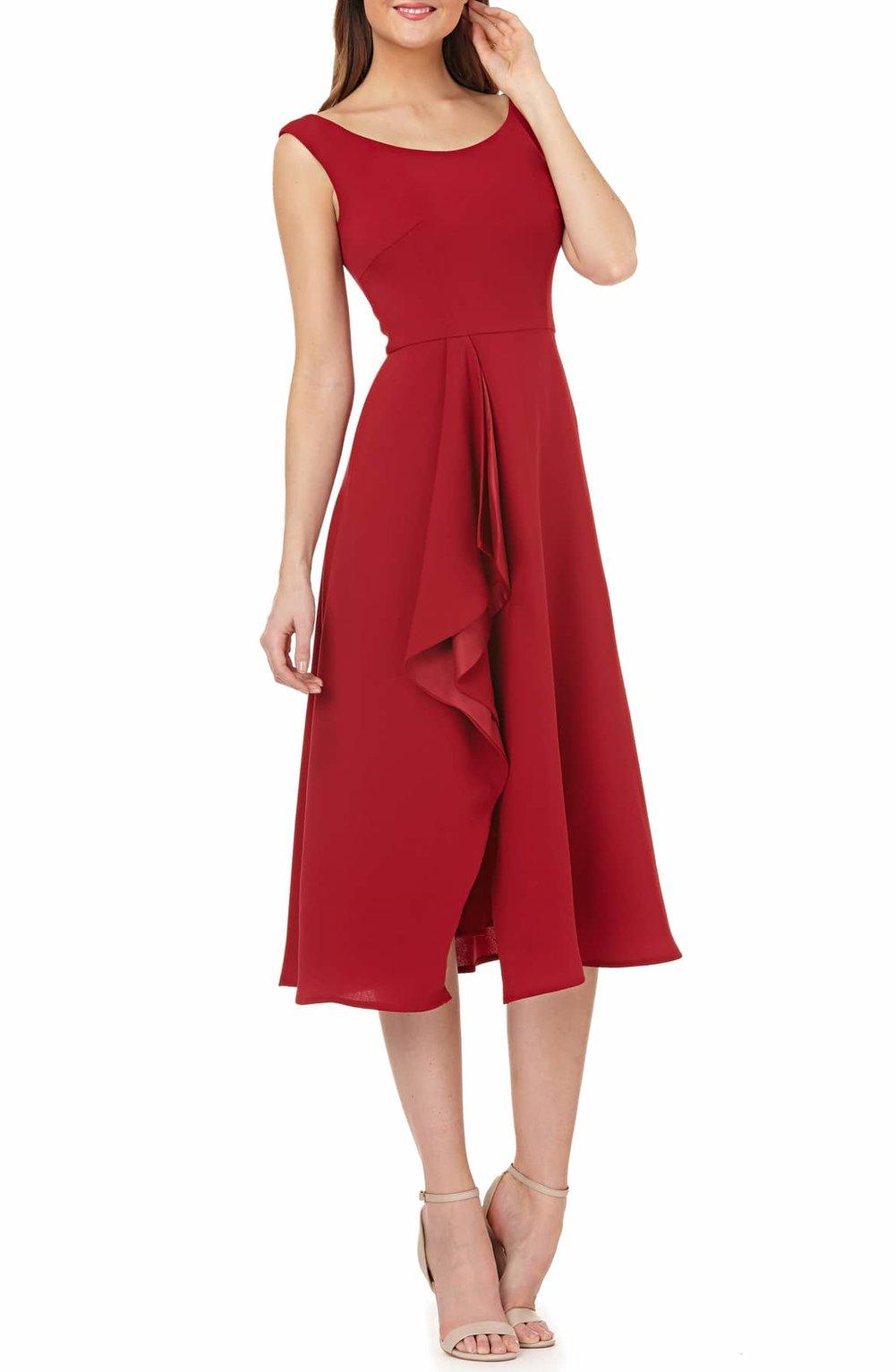 Carmen Marc Valvo Infusion Cascade Dress - $298.00