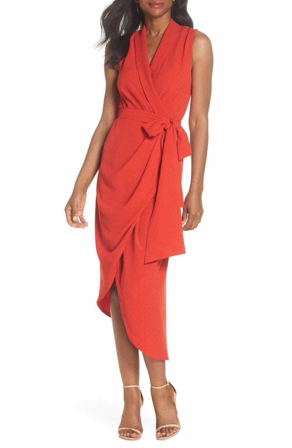 CMEO Collective Entice Asymmetrical Wrap Dress - $185.00