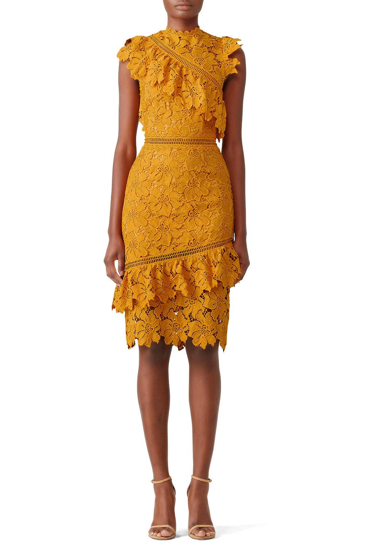 Mustard Reine Sheath Saylor Dress - $45.00-$55.00