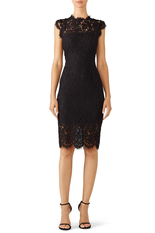 Rachel Zoe Black Suzette Dress - $55.00-$65.00