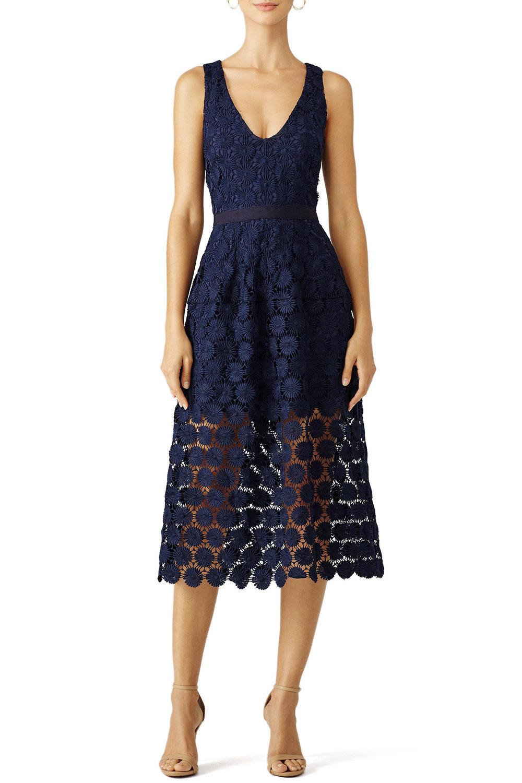 Trina Turk Blue Ceiba Dress - $40.00-$50.00