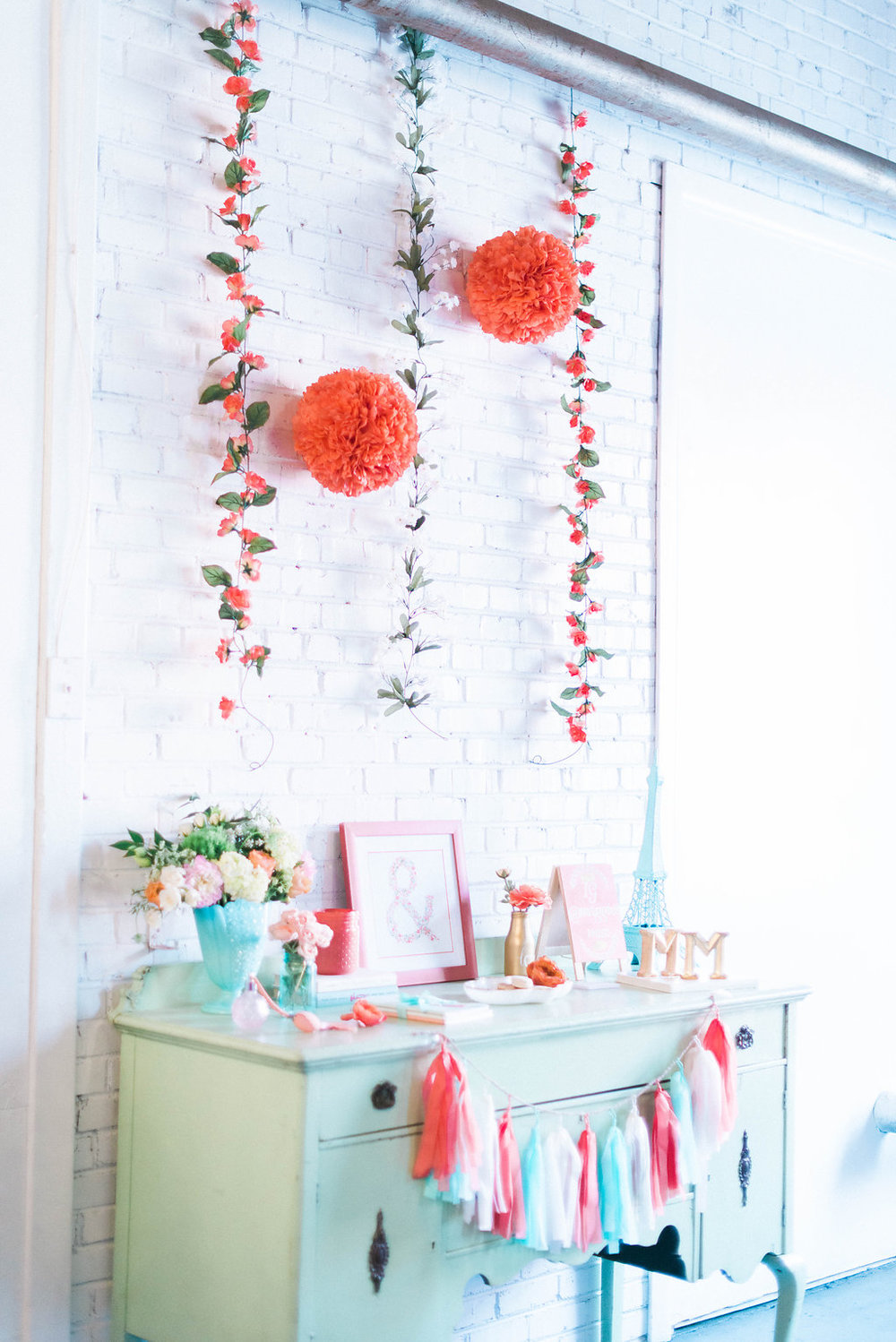 Coral-Blue-Bridal-Shower-Photo