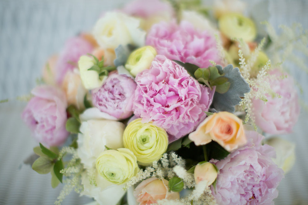 Peonies, Ranunculus, and Garden Roses! Oh my!