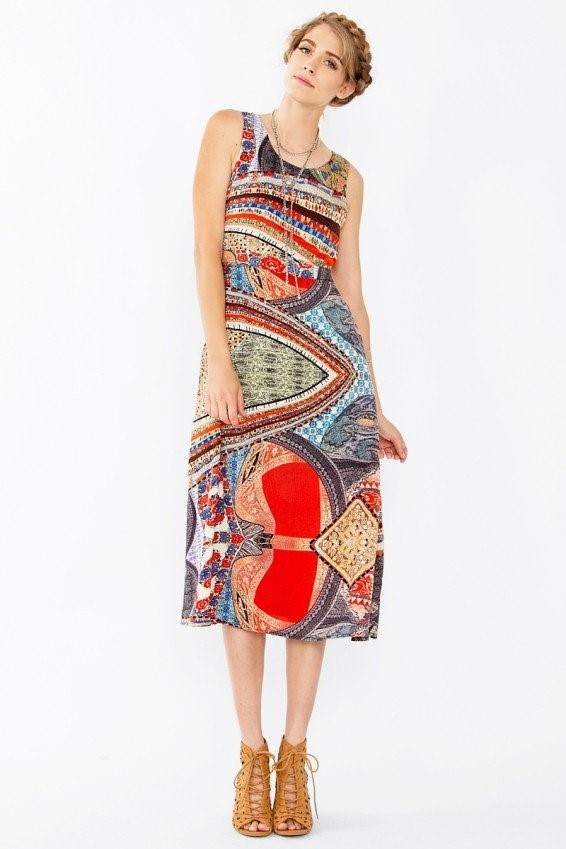 world-print-wedding-guest-dress