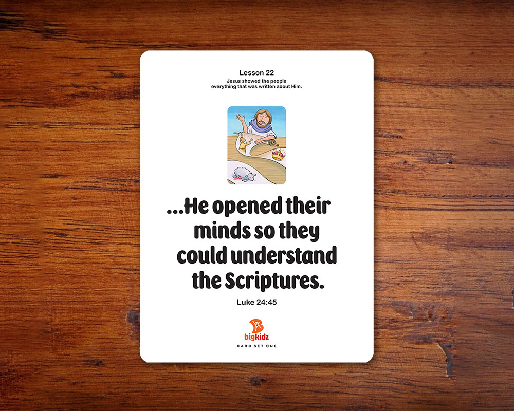 Beautiful flashcards make verse memorization fun