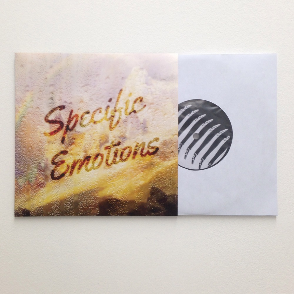 Limited edition vinyl record by Dominic Watson, 2015
