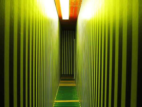 Thorsten Brinkmann,La Hütte Royal(hallway), 2013