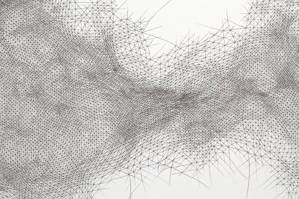 Detail fromInventionseries, 2011, ink on paper