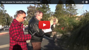 Video of Christians Arrested