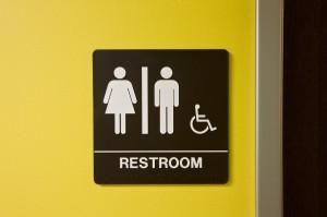 Bathroom sign symbols