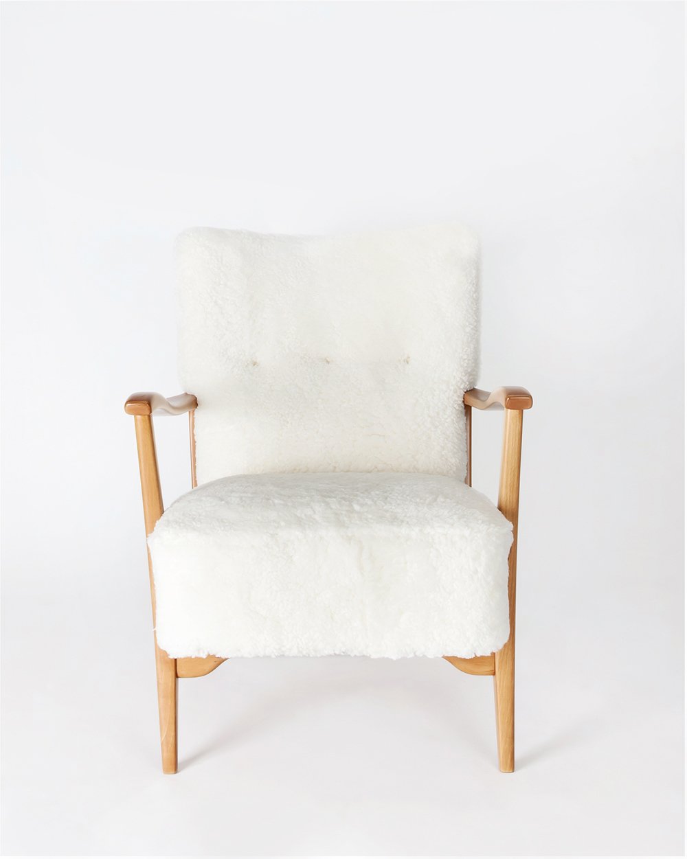 Twin Scandinavian Modern Chairs (Pair)