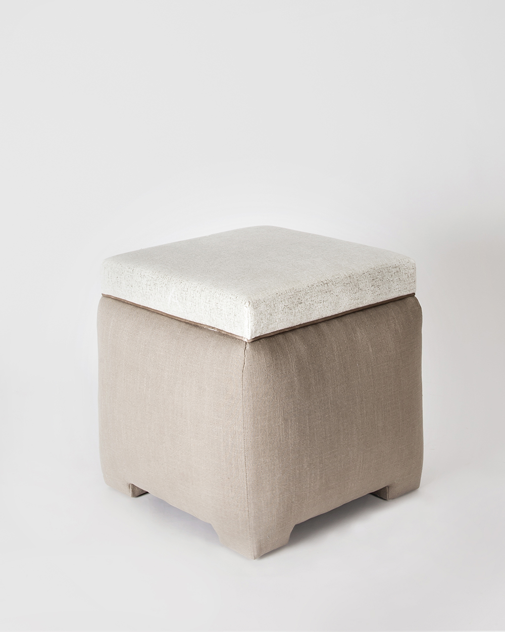Small Square Pouf