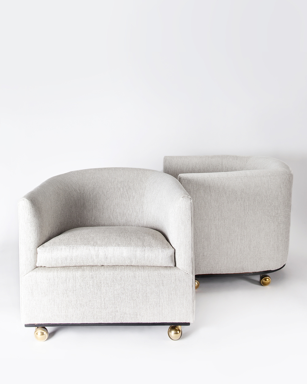 """Studio 54"" Club Chairs (Pair)"