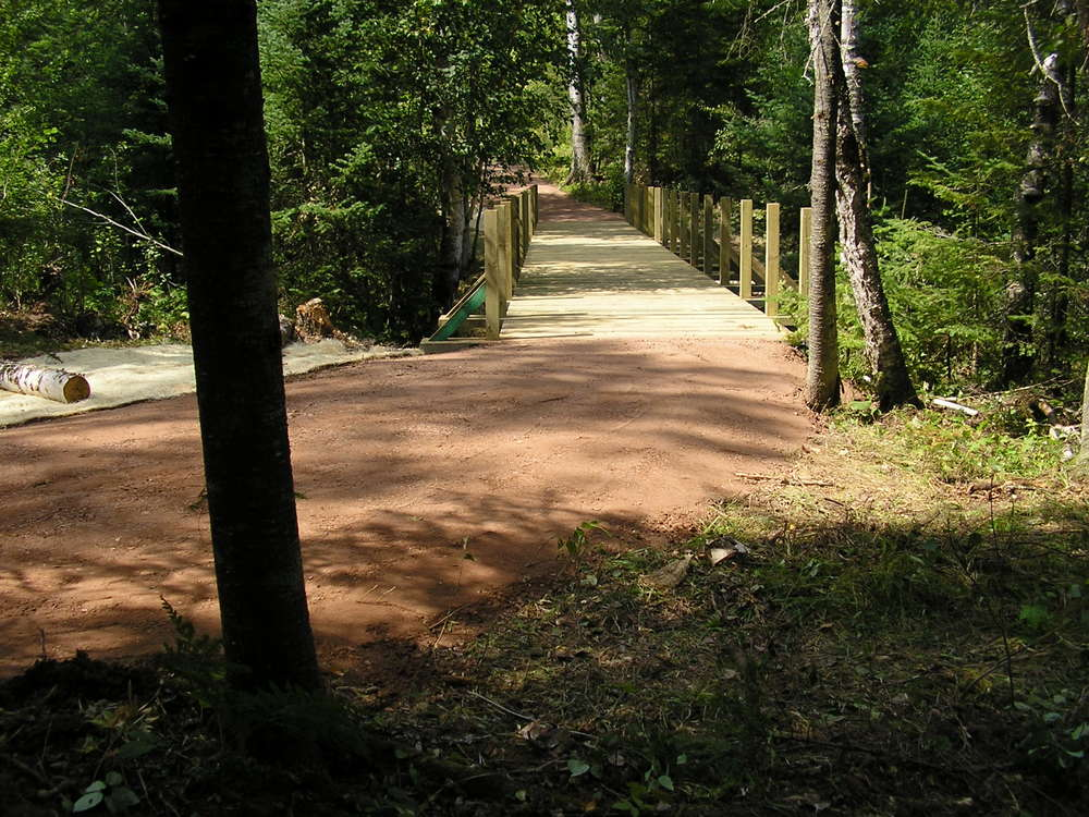 New Capser Trail Bridge