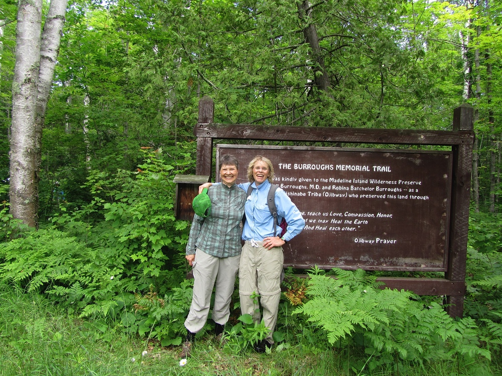 Hiking the North End Trails