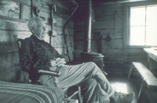 Sigurd Olson, photo by  Don Albrecht, Bayfield, WI