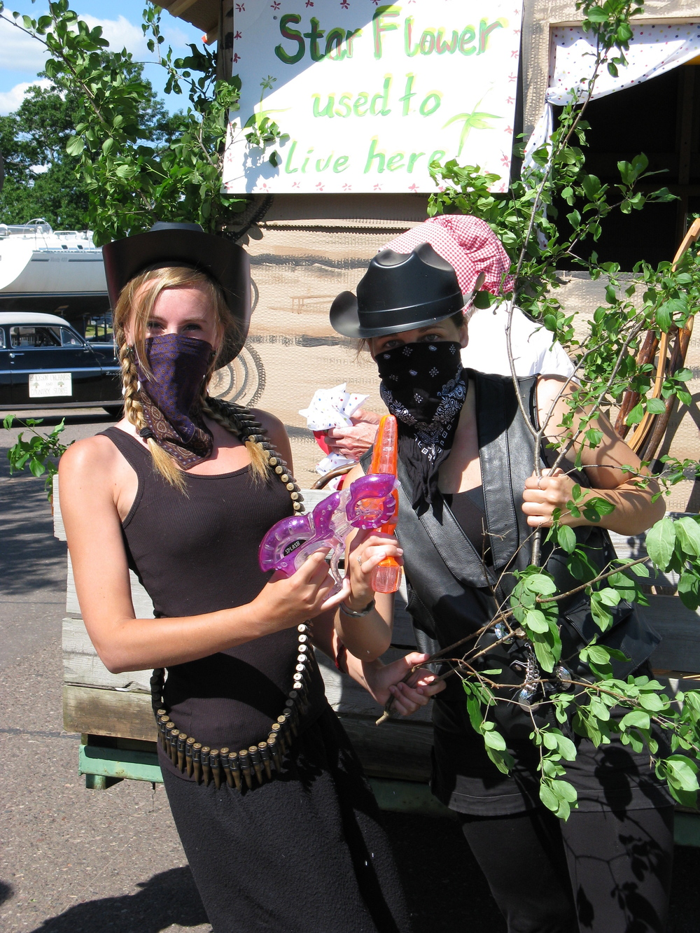 "Here's a photo from our 2008 winner, ""Buckthorn Buckaroos"""