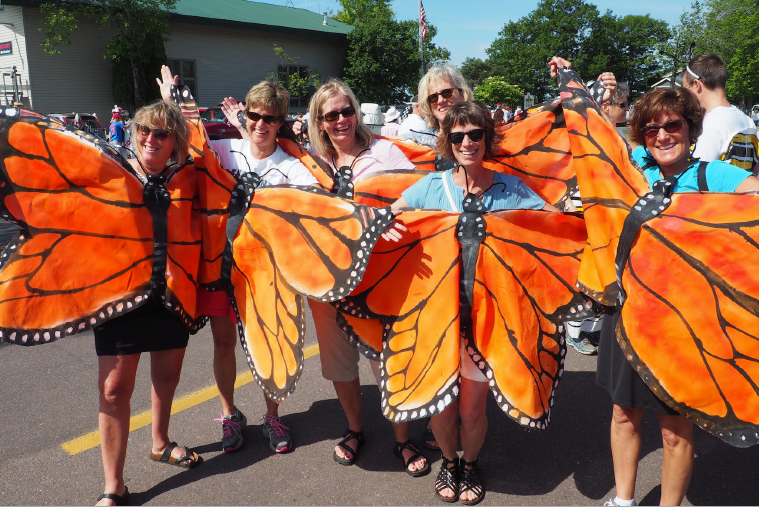 Monarch Butterflies, MIWP style