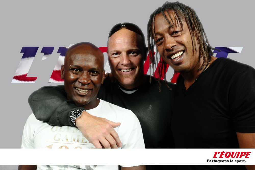 Club France - Olivier Girod, Sébastien Amiez et Jackson Richardson