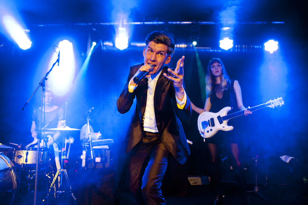 Willy Moon live in Berlin