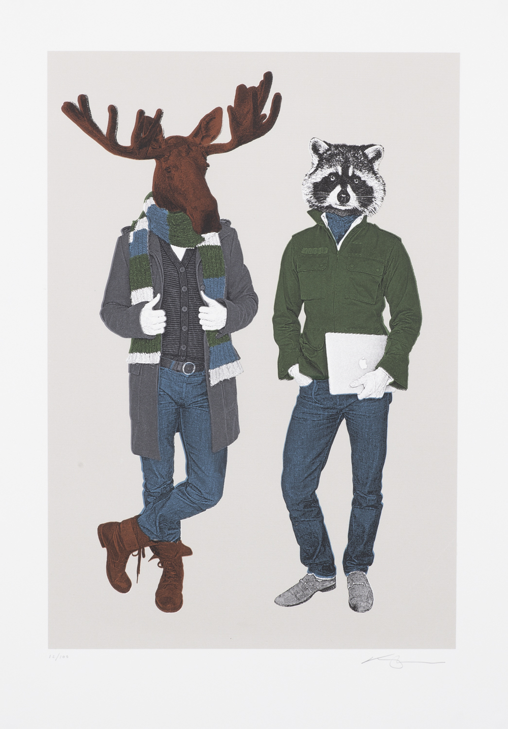 The Moose & Racoon