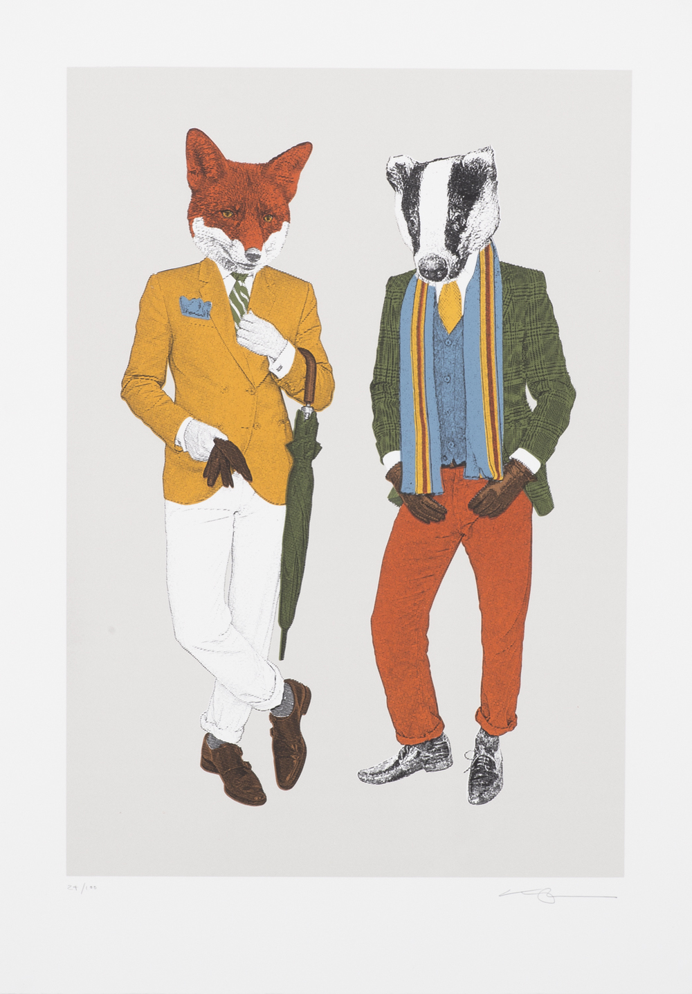 The Fox & Badger