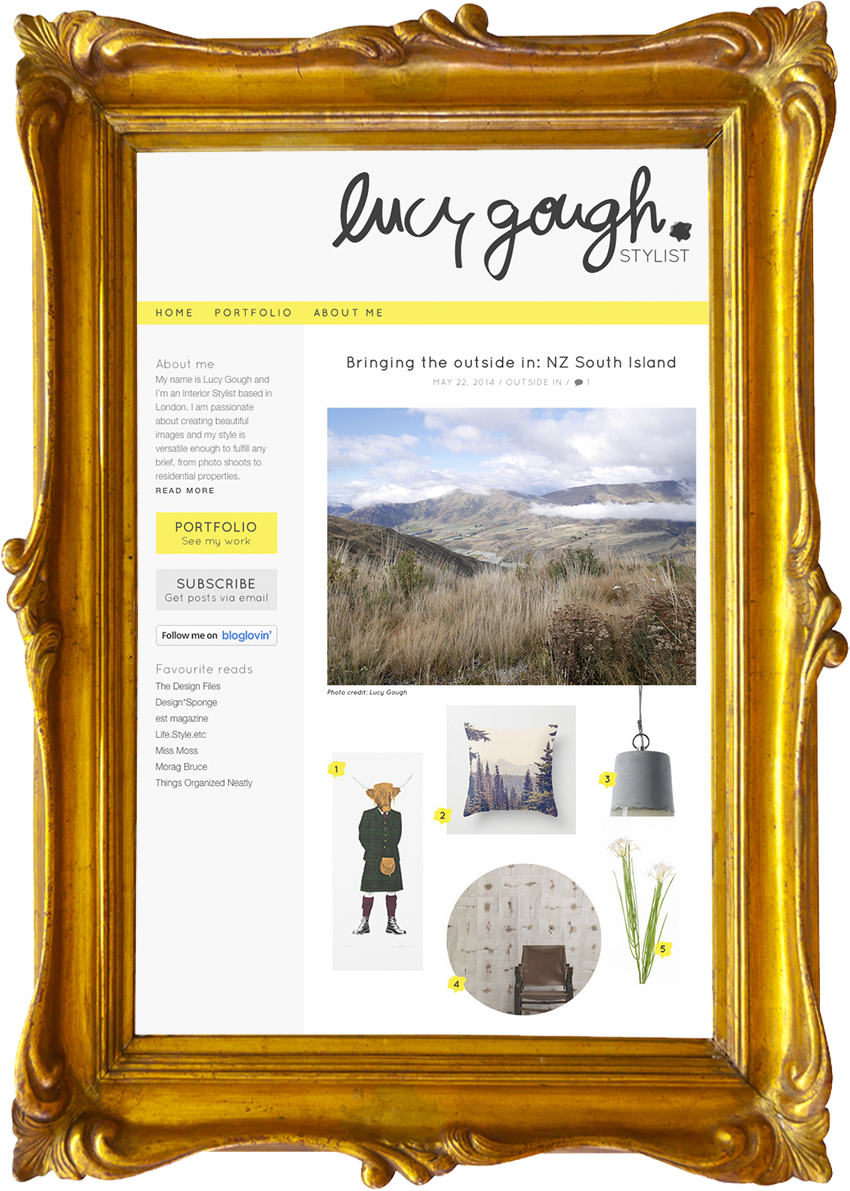 Lucy Gough  - Interior Stylist