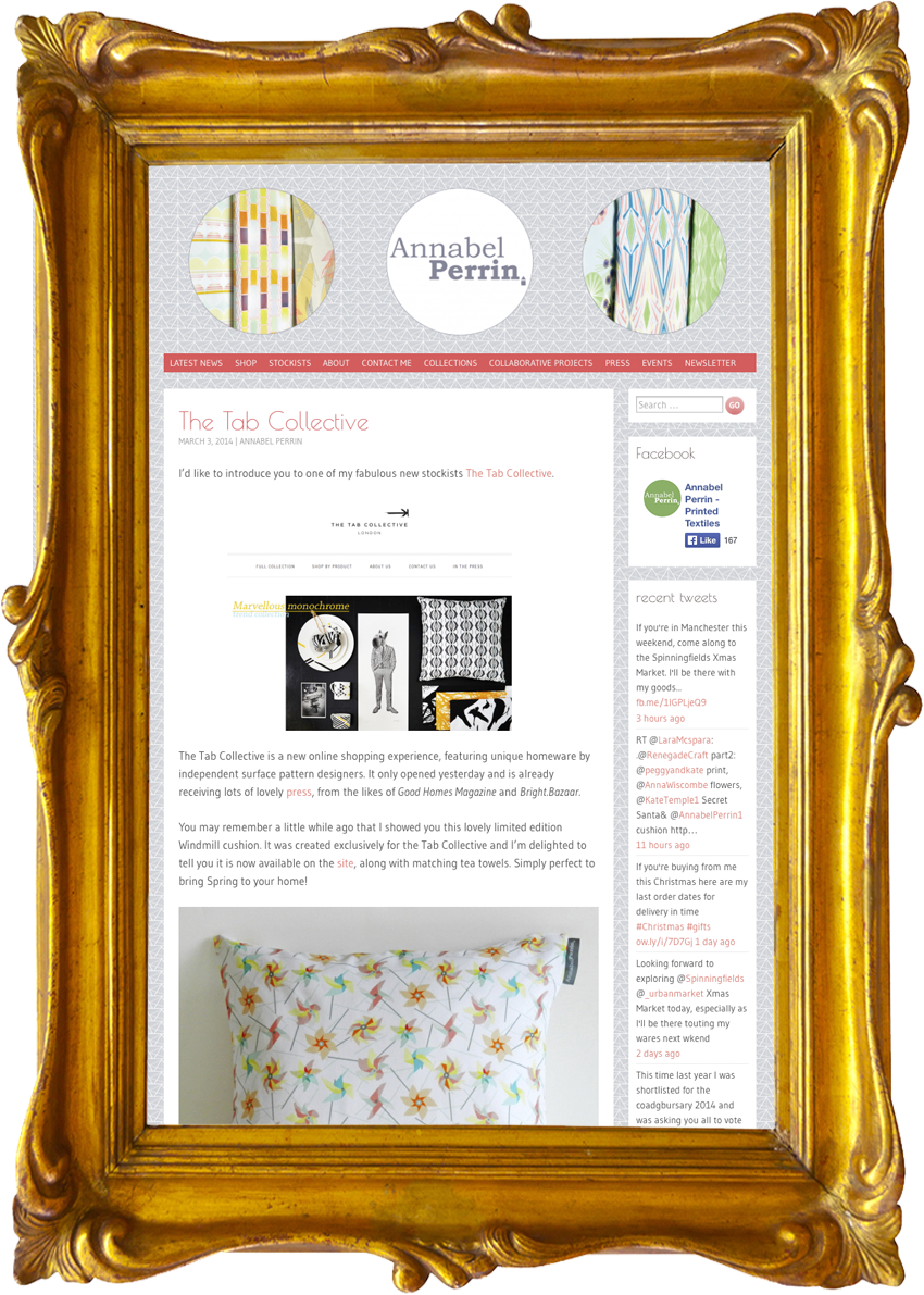 Annabel Perrin - Surface Pattern Designer & Homewares