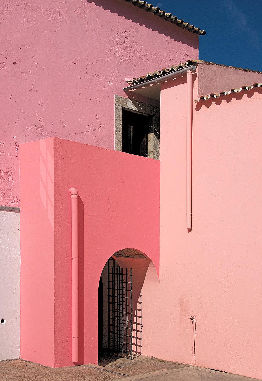 Pink House, Loulé, Portugal