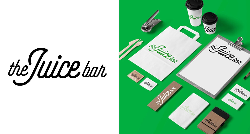 the Juice Bar Dallas —  Role:  Corporate Identity / Art Direction