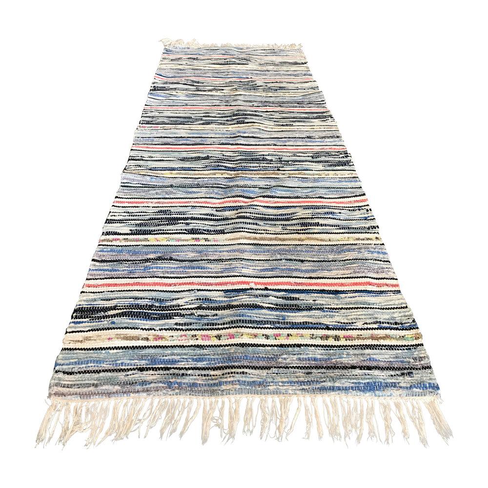 Vintage Swedish Rag Rug
