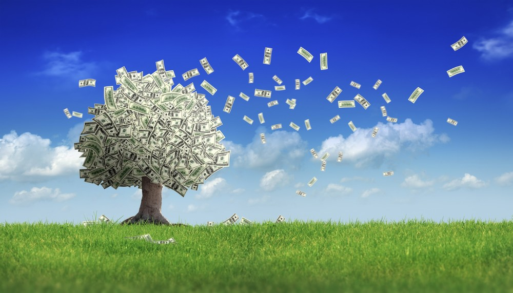 Giving Tuesday Money Tree