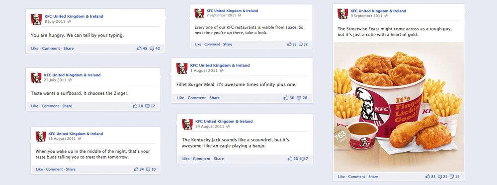 KFC: social